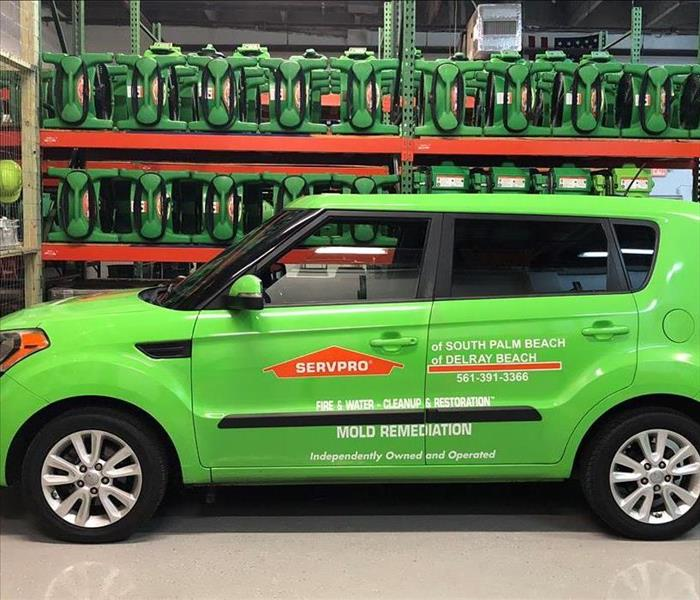 SERVPRO of South Palm Beach - Sales Vehicle